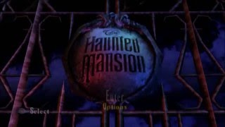 The Haunted Mansion PS2 Walkthrough Part 1 No Commentary Intro/Great Hall