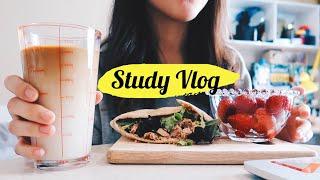 Study Vlog 期末考📚、螺絲粉🥘、口袋餅🥙 Audrey英國留學筆記