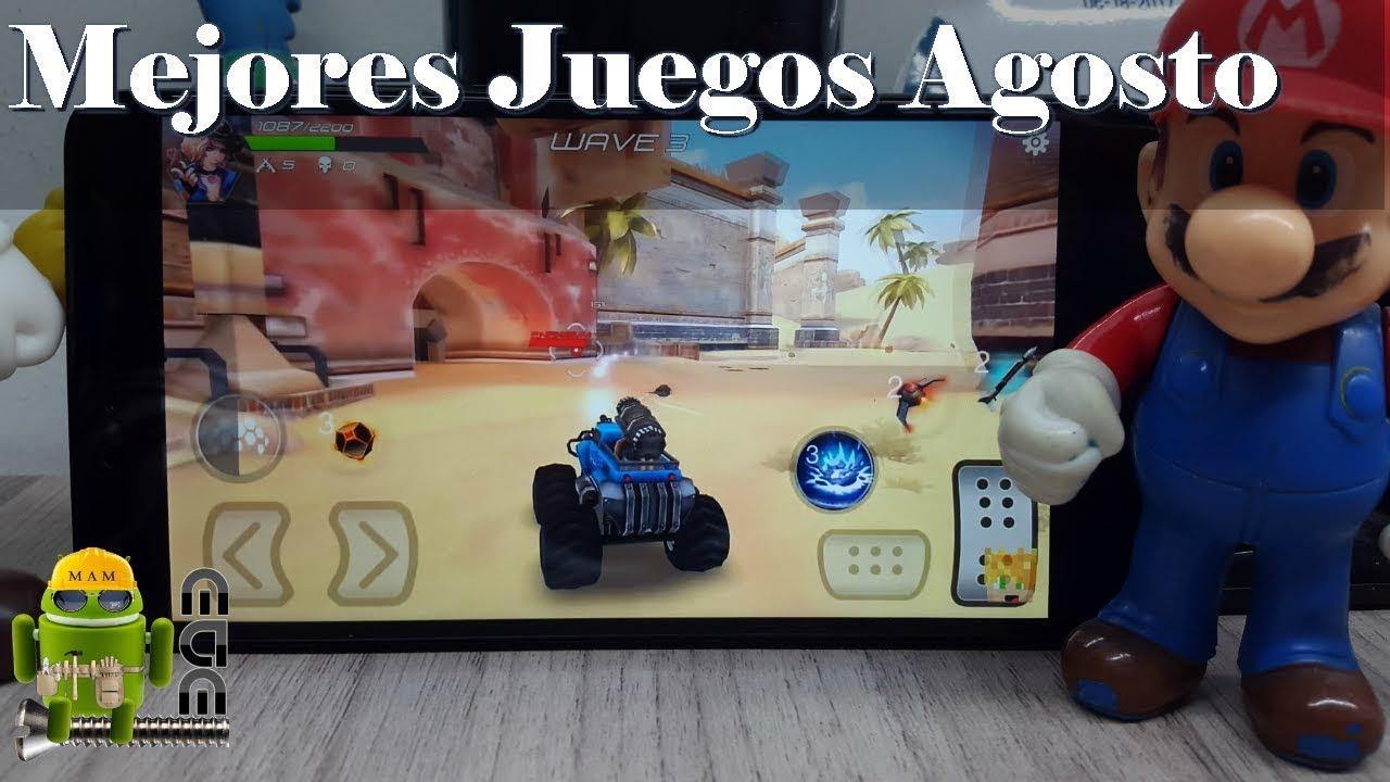Los Mejores Juegos Gratuitos De Playstore Top Agosto 2017 Youtube