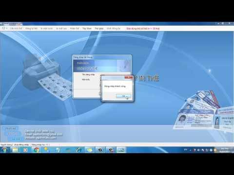 Phần mềm in thẻ học sinh: Phần 1 - Cài đặt và giới thiệu phần mềm in thẻ