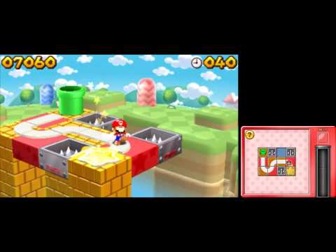 Mario and Donkey Kong: Minis on the Move - 100% Walkthough - Mario's Main Event Levels 1-10