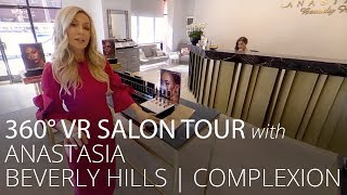 360°  VR Tour with Anastasia Beverly Hills: Complexion | Feelunique
