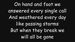 Video Rise Against: I Don't Want To Be Here Anymore (Lyrics) download MP3, 3GP, MP4, WEBM, AVI, FLV Juli 2018