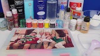Sihirli Annem Slime Seti Tamamlandı! 3 Renk Şeffaf Slime Challenge + BONUS SLİME!! Bidünya Oyuncak