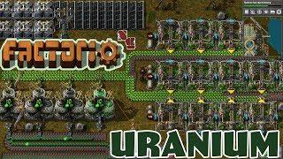 FACTORIO 0.15   Uranium Experimentation - Episode 34