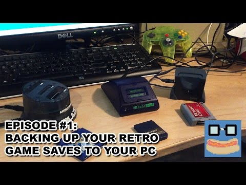 Game Weenies: Episode 1 - Backing Up Retro Game Saves to Your PC