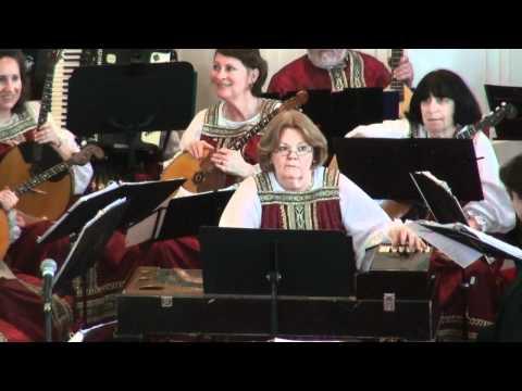Washington Balalaika Orchestra at Catonsville, MD 3/18/2012 - Part 1