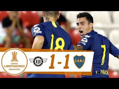 GOL: Libertad 1-1 Boca Juniors