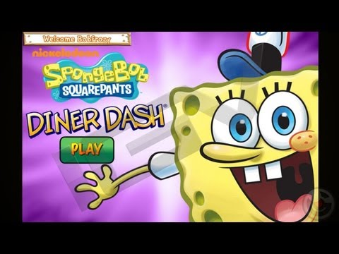 SpongeBob Diner Dash Deluxe - IPhone Game Trailer