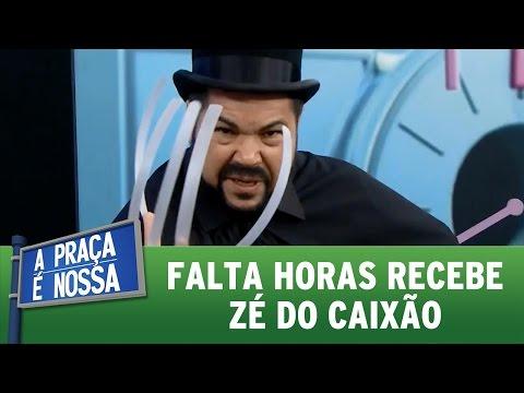 A Praça É Nossa (16/06/16) Falta Horas recebe Zé do Caixão
