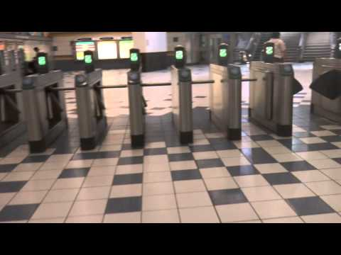 Double Feature: Elevators at Universal City Station Hollywood CA