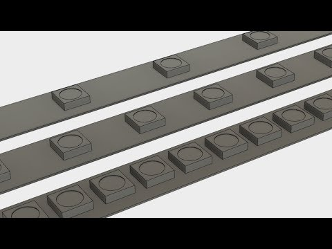 Fusion 360 Tutorial – Parametric LED Strips - YouTube
