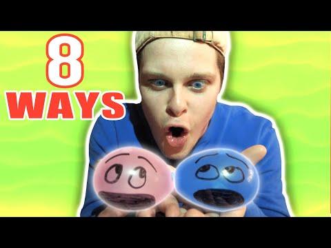8 Ways To Pop A Water Balloon MadShenans