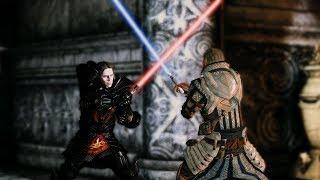 Jedi Knight Alistair vs Darth Loghain | Lightsaber battle