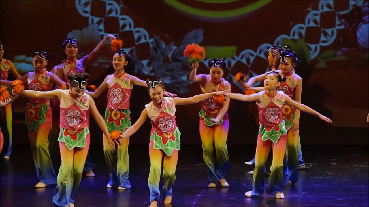 (杨洋舞蹈工作室密市周六青少年班)东北秧歌-嬉戏—花