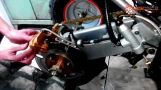 доработка заднего тормоза на квадроцикле