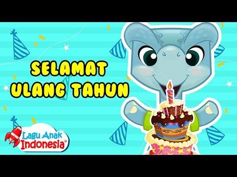 Lagu Anak Indonesia - Selamat Ulang Tahun - Dino And Friends - Lagu Anak Anak