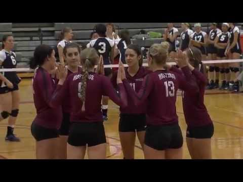 Hastings College volleyball defeats No. 3 Wayland Baptist University