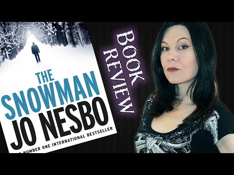 Typicalbooks 25 - The Snowman - By Jo Nesbo - Crime Horror Book Review