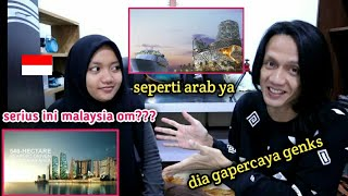INDONESIAN REACT TO PEMBANGUNAN BESAR BESARAN DI MALAYSIA