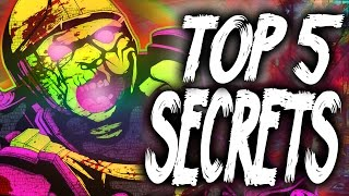 """Top 5"" ""Five Secrets""/""Dead Ops Arcade Fun Facts"" ""CoD Zombies"" ""Five/DOA Easter Eggs""!"