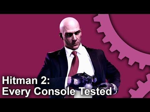 Сравнение производительности Hitman 2 на Xbox One и Playstation 4