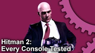 Hitman 2: PS4/PS4 Pro vs Xbox One S/Xbox One X - Every Console Tested