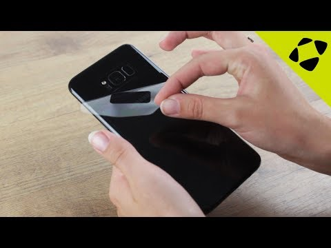 Olixar Samsung Galaxy S8 / S8 Plus Front & Back TPU Screen Protector Installation Guide