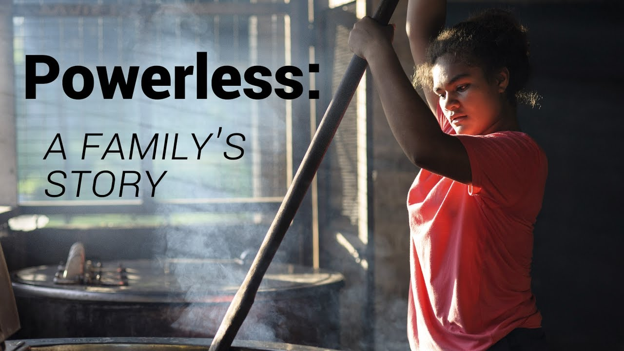 Solomon Islands – 'Powerless': James & Melody's story
