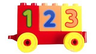 LEGO DUPLO TREIN MET NUMMERS VAN 0-9 LEGO DUPLO TOG METD TALLENE 0-9 VIDEO