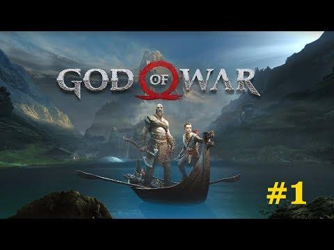 God of War (by SIE Santa Monica Studio) - PlayStation 4 Pro - Walkthrough - Part 1 [4k/60 FPS]
