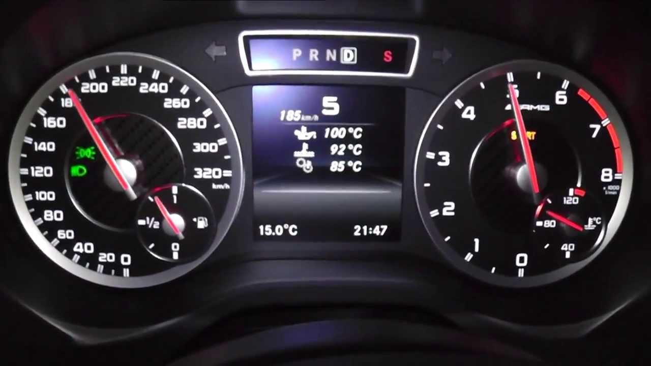 2013 Mercedes Benz A 45 AMG Limousine 360 HP 0 100 Kmh 0