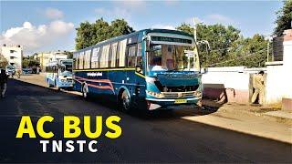 TNSTC Brand New 3 2 Seater AC Intrastate Bus Service Tamil Nadu