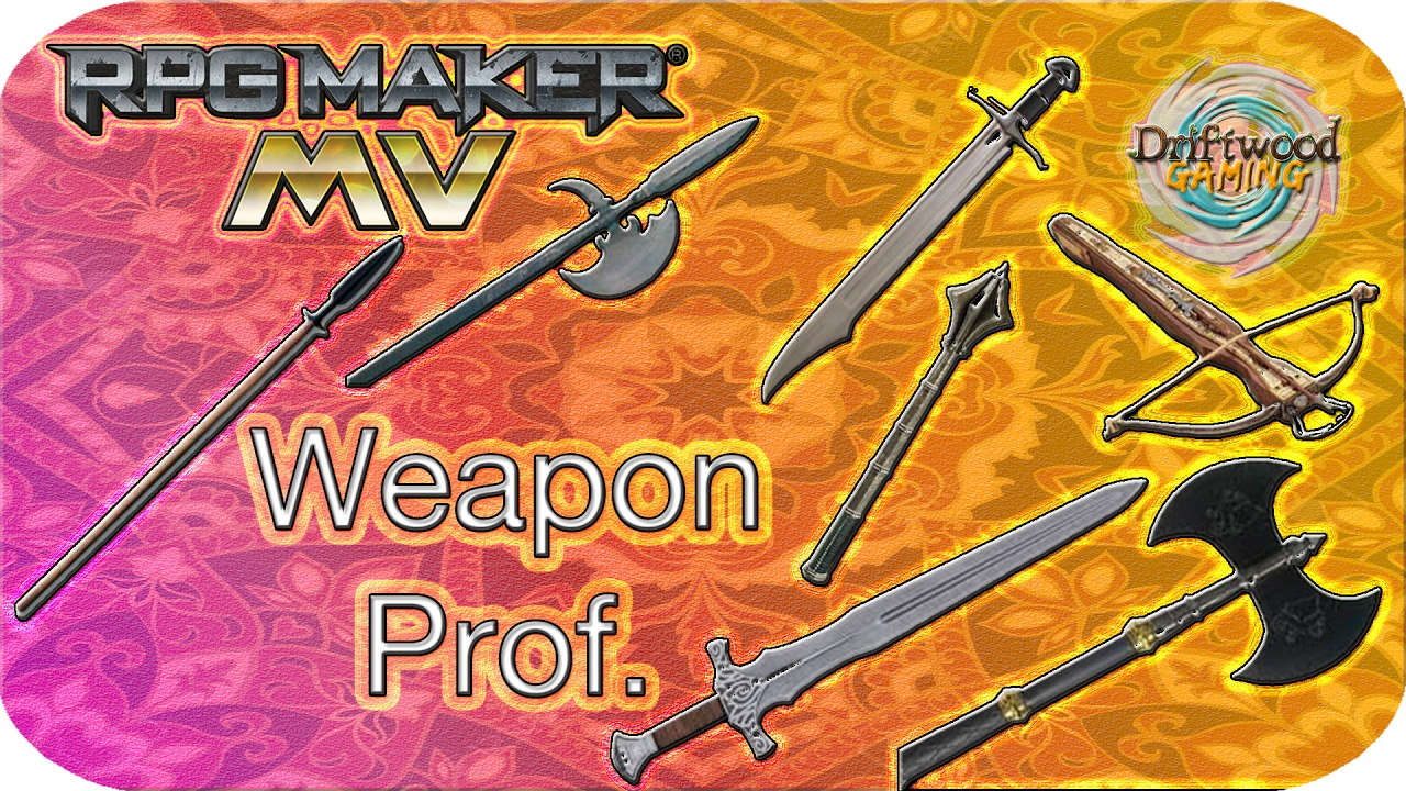 Weapon Proficiency - RPG Maker MV Tutorial - Galv WeaponProf Tutorial -  RPGMMV - RMMV