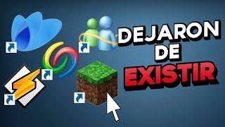 Los 10 PROGRAMAS MÁS FAMOSOS QUE DEJARON DE EXISTIR