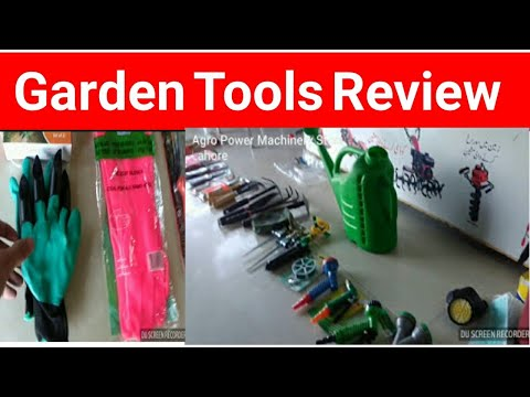 Garden Tools Pakistan Full Review || Home Use Tools || Hose Reel