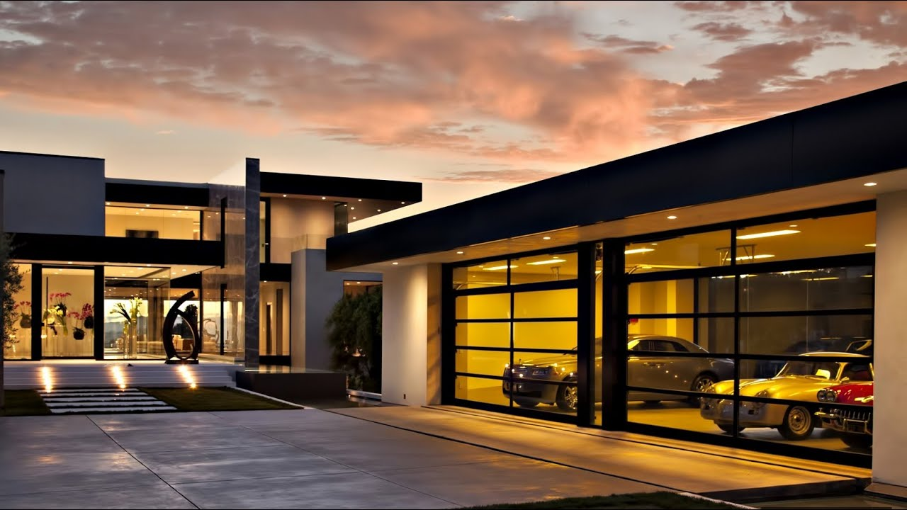 Stunning exquisite contemporary modern luxury residence for Luxury home designs usa