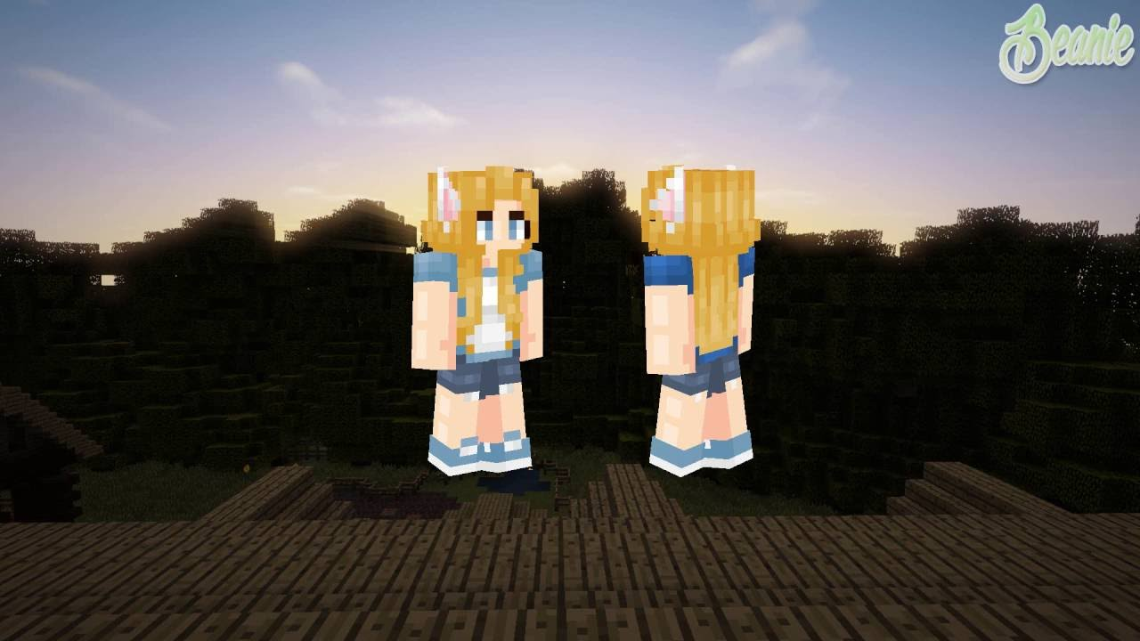 How To Make Cat Ears On A Minecraft Skin