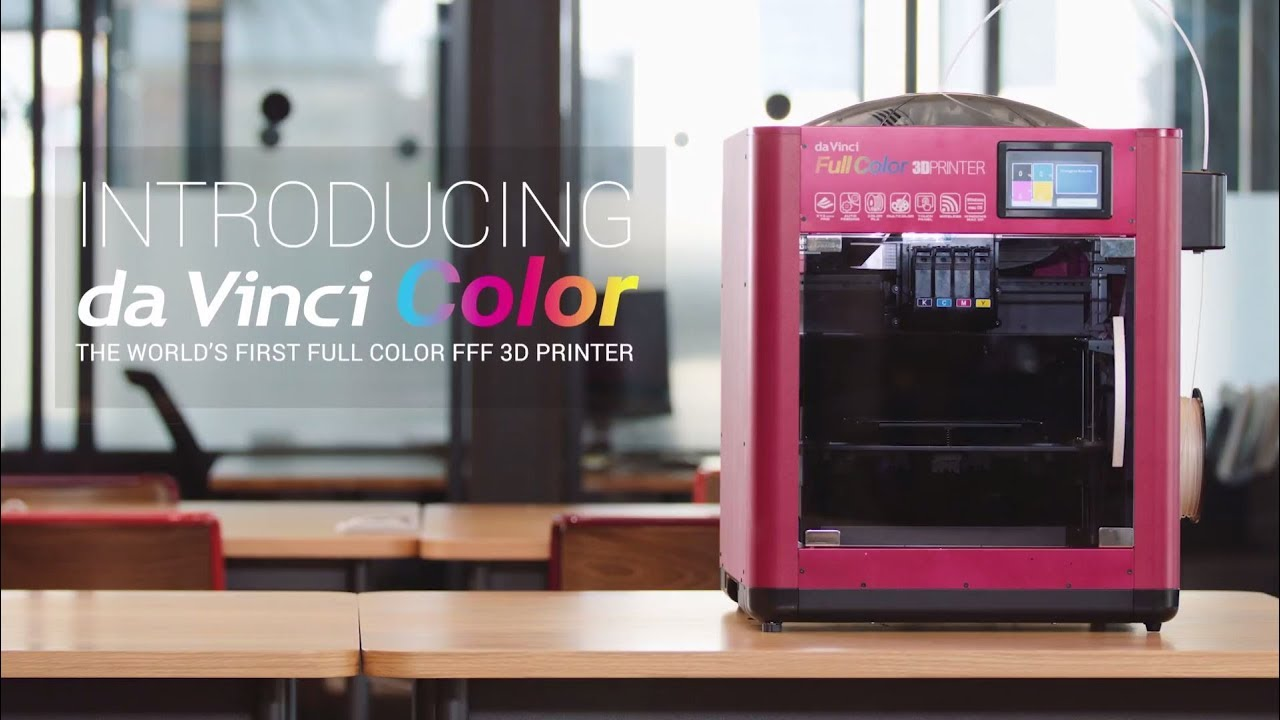 D Printing Exhibition China : Da vinci color the world first full color fff d printer youtube