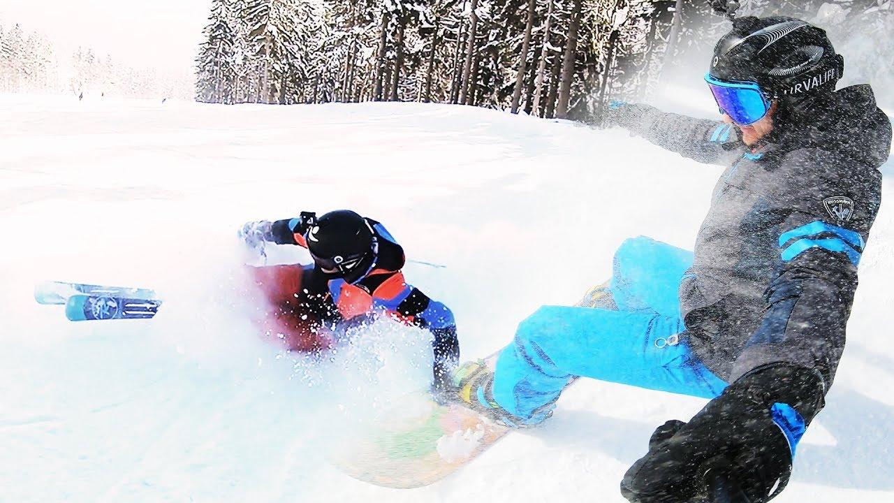 Ve 49 letech poprvý na lyžích! | Tary a táta Anatolij