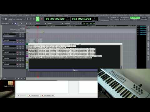 MIDI Controllers with Ardour - Linux