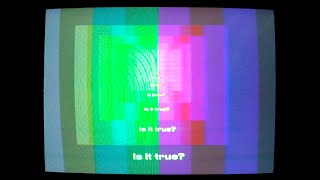 Tame Impala - Is It True (Four Tet Remix) (Official Visualiser)