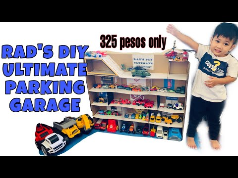 diy-parking-garage-|-cheap-diy-parking-for-boys-toy-cars