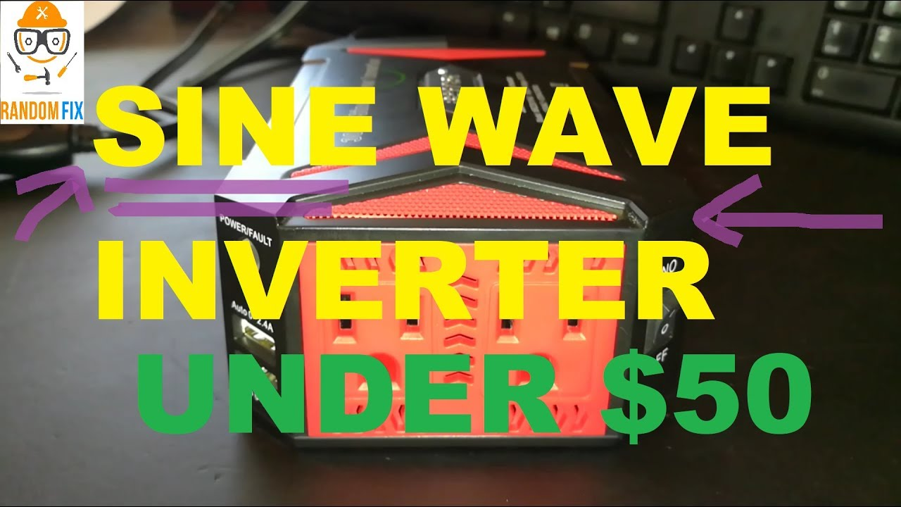 Pure Sine Wave 300w Power Inverter Dc 12v To Ac 110v 1 Year Of Circuits Further Circuit Use Review