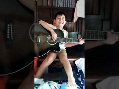 LYLE LOVES PLAYING GUITAR