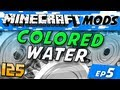 Minecraft Mods - Colored Water - Millions of Colors!