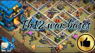 Th12 war bases 2018. Clash of clans th12 bases anti 2 star