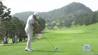 [골프스윙]주목 받기 시작한 박정민의 드라이버 샷
