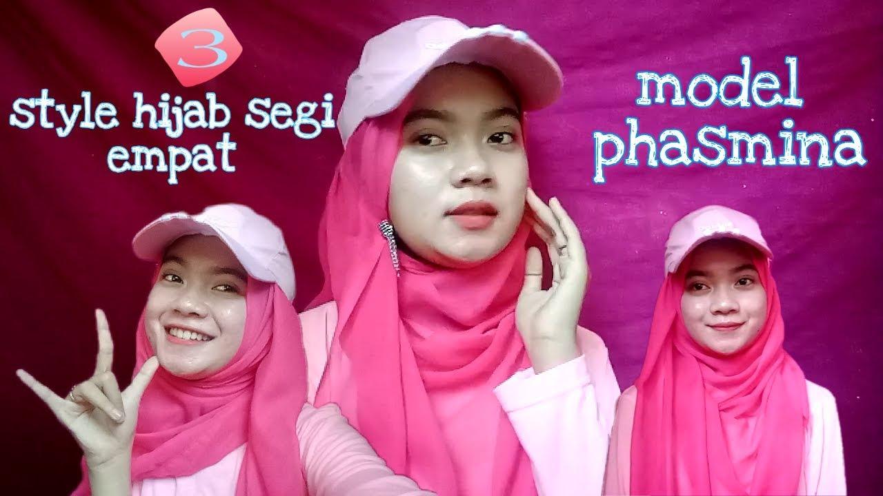 Download Simpel Hijab Segi Empat Menjadi Model Pashmina Pake Topi Mp3 Savethealbum