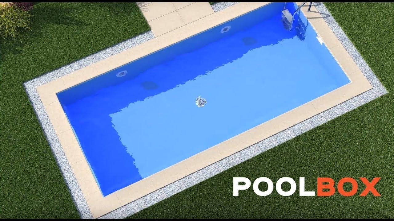 comment construire une piscine enterr e avec poolbox youtube. Black Bedroom Furniture Sets. Home Design Ideas